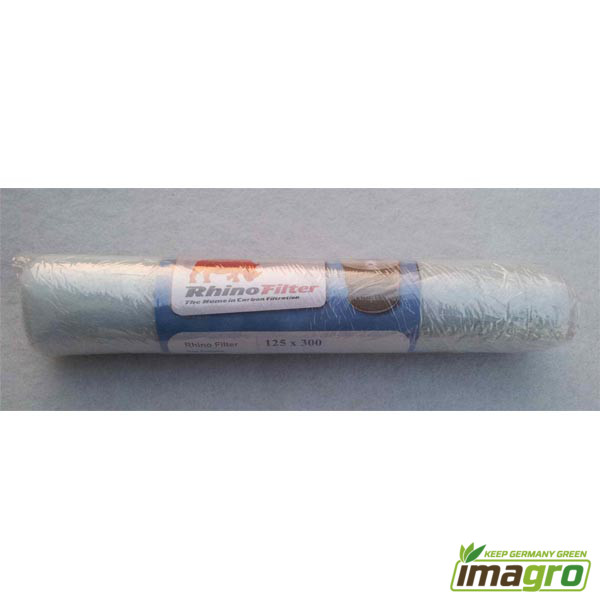 Rhino Pro 1350 m³//h Aktivkohlefilter AKF Filter 250 mm Flansch Abluft Grow